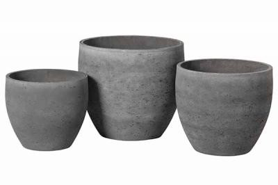 Adelaide cement light  pot A – 40×35 – Anth – 2717-A