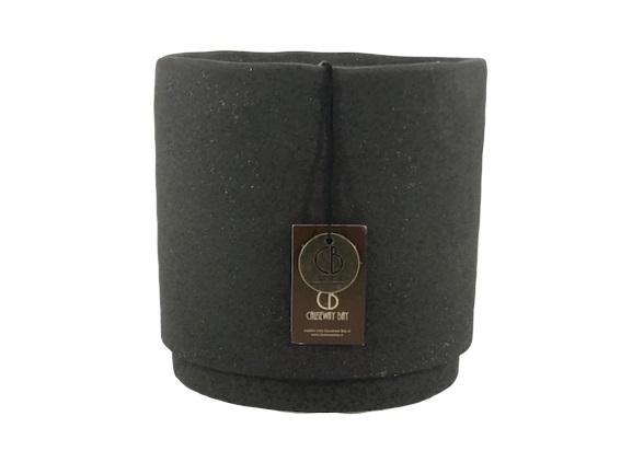 Ottawa pot 12 – 12x12x12 – black dots – 20011