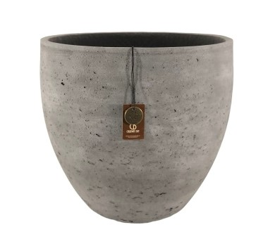 Adelaide cement light  pot A – 40×35 – Anth – 80001