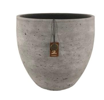 Adelaide cement light  pot B – 34×30 – Anth – 80002