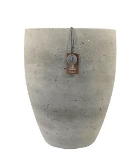 Adelaide Cement light  pot high A – 36×44 – Olive – 80012