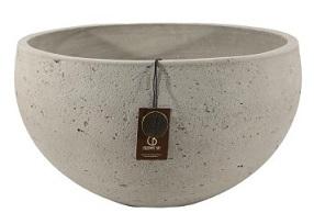 Adelaide Cement light  bowl C – 31×16 – Olive – 80021