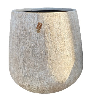 Gawler Woodlook bowl pot A – 65×67 – WBEIGE – 81115