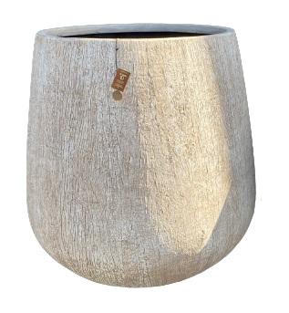 Gawler Woodlook bowl pot B – 46×48 – WBEIGE – 81116