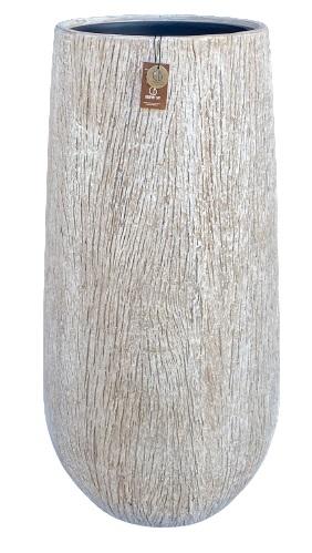 Gerroa Woodlook bowl vase + PI B – 31×64 – WBEIGE – 81122