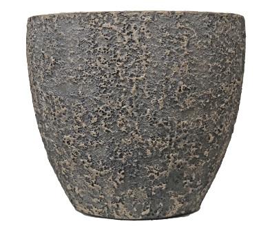 Forrest rustic egg pot C – 42×35 – Swhite-black – 82484